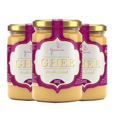 Imagem de Manteiga Clarificada Ghee Kit com 3 Frascos de 300g