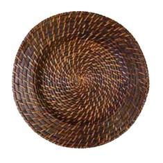 Imagem de Sousplat Redondo em Rattan e Bambu 32cm Rústico - GZT
