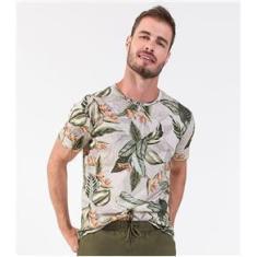 Imagem de Camisa Masculina Folhada Rovitex Bege