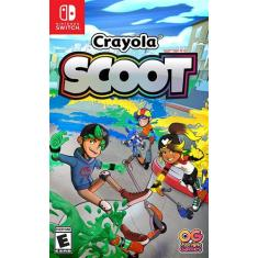 Jogo Jogo Crayola Scoot Outright Games Nintendo Switch