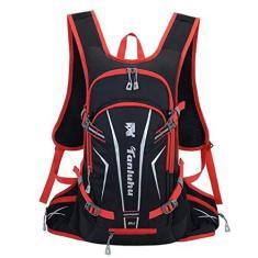 Imagem de foshan Mochila de ciclismo de 25 l com suporte de capacete, leve, esportiva, hidratação, montanha, bicicleta, escalada, mochila