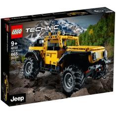 Imagem de Lego Technic Jeep Wrangler  Off-Road 42122 De 665 Pçs