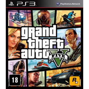 Jogo Grand Theft Auto V PlayStation 3 Rockstar