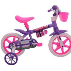 Imagem de Bicicleta Cairu Aro 12 Violeta