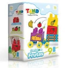 Imagem de Blocos De Montar - Tand Baby - Carrinho De Frutas - Toyster