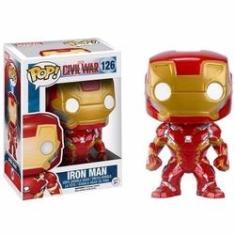 Imagem de Funko Pop Homem de Ferro 126 Iron Man Civil War