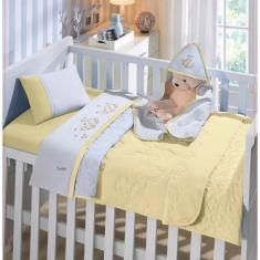 Imagem de Edredom Bebê Dupla Face Linha Baby Malha 100% Algodão Buettner
