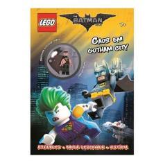 Imagem de Livro Infantil Lego The Batman Movie Caos Em Gotham City