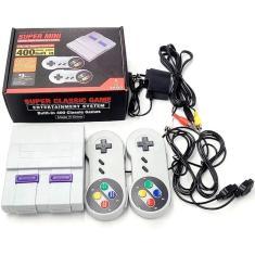 Imagem de Vídeo Game Super Mini Retrô 2 Controles 400 Jogos