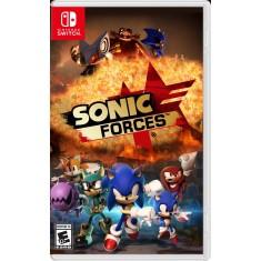 Jogo Sonic Forces Sega Nintendo Switch