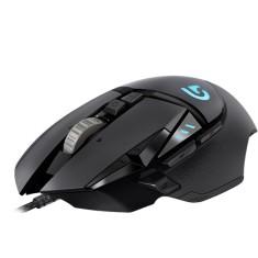 Mouse Óptico Gamer USB G502 Proteus Spectrum - Logitech