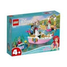 Imagem de Brinquedo Lego Disney Princess Barco de Cerimônia de Ariel