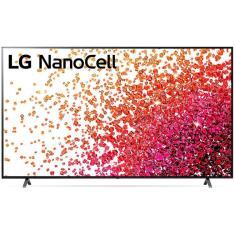 "Imagem de Smart TV Nano Cristal 86"" LG ThinQ AI 4K HDR 86NANO75SPA"