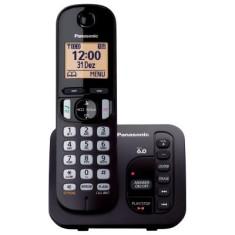 Telefone sem Fio Panasonic Secretaria Eletrônica KX-TGC220