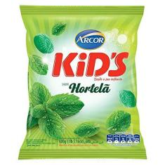 Bala Hortelã Kids 600g - Arcor