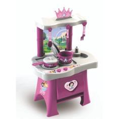 Imagem de Cozinha Infantil Princesas Disney Fogão Forno Pia Panelinhas
