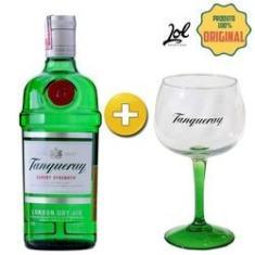 Imagem de Kit - Gin Tanqueray - Garrafa 750ml + Taça de Vidro oficial