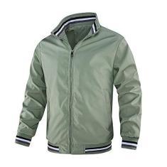Imagem de Fdrirect Casacos masculinos camisa casual  macia moda confortável jaqueta casual camisa esportiva
