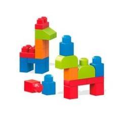 Imagem de Mega Blocks First Builders Sacola 40 Pçs - Mattel flk01