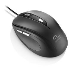 Mouse Óptico USB Comfort MO241 - Multilaser