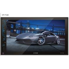 """Central Multimídia Automotiva H-Tech 7 """" HT-7120 Bluetooth Wi-Fi"""