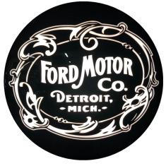 Imagem de Ford Motor Company Luminoso Bar Led 40cm Parede Quadro Decorativo Luminária Sala