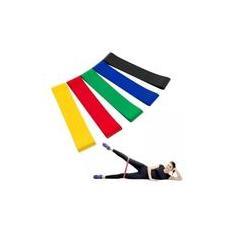 Imagem de Kit 05 Elásticos Mini Band Exercício Extensor Treino Coloridos x