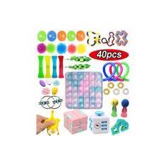 Imagem de 1/40pcs Kit Brinquedos Pop It Fidget