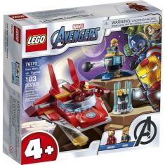 Imagem de Lego Júnior 76170 Super Heroes Homem De Ferro Vs Thanos