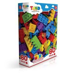 Imagem de Blocos De Montar Tand Kids 80 Peças 2296 Toyster