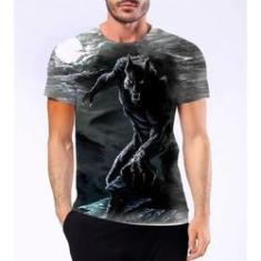 Imagem de Camiseta Camisa Lobisomem Licantropo Homem Lobo Mitologia 4