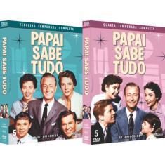 Imagem de DVD Papai Sabe Tudo - 3º e 4º Temporada Completa - 10 Discos