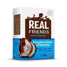 Imagem de Ração Real Friends Para Porquinho Da Índia E Chinchila 500g