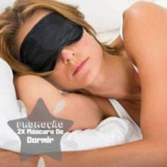 Imagem de 2 Máscara Para Dormir Tapa Olhos Para Ajudar Dormir