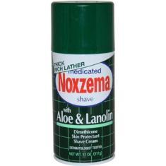 Imagem de Creme De Barbear Noxzema Aloe&Lanolin 311g efeito calmante