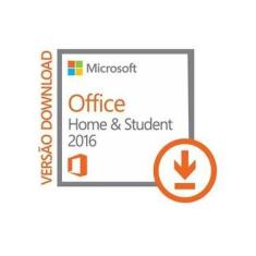 Licença Office 2016 Home and Studant RTM Vitalícia 1 PC ou notebook