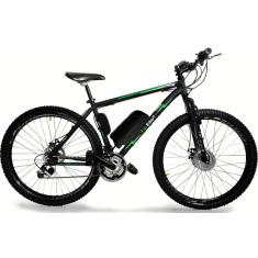 Bicicleta Elétrica TecBike 21 Marchas Aro 29 Suspensão Dianteira Freio a Disco Mecânico Tec Ultra 3.0 350w