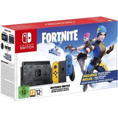 Imagem de Console Portátil Switch 32 GB com Joy Con Nintendo Fortnite Special Edition
