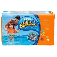 Fralda para Piscina e Mar Huggies Little Swimmers Tamanho M 11 Unidades Peso Indicado 12 - 15kg