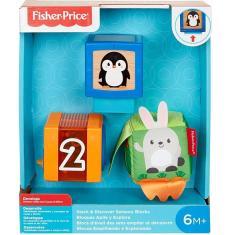 Imagem de Fisher Price Blocos De Montar Empilhando E Explorando - Mattel