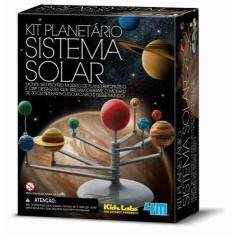 Imagem de Brinquedo Educativo - Planetário Sistema Solar - 4m