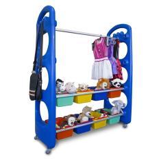 Imagem de Organizador de Brinquedos com Cabide Arrumadinho