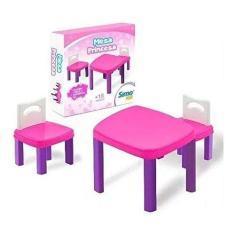 Imagem de Mesinha Infantil Princesa Com 2 Cadeiras - Simo Toys