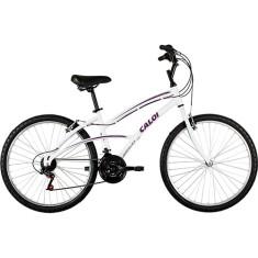 65794f625 Bicicleta Caloi Aro 26 21 Marchas 100 Sport Feminina