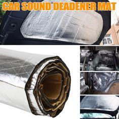 Imagem de 55 \ X39 \ 140x100 cm Carro Escudo Térmico Som Deadener Isolamento Espuma Motor Proteger Capa Mat