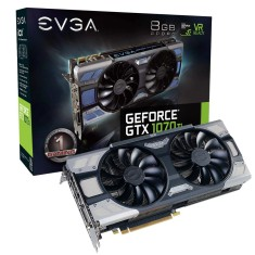 Placa de Video NVIDIA GeForce GTX 1070 Ti 8 GB GDDR5 256 Bits EVGA 08G-P4-6775-KR