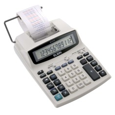 Calculadora De Mesa com Bobina Elgin MA471406