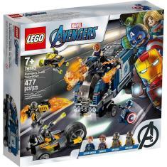 Imagem de Lego Marvel Super Heroes Avengers Ataque de Caminhao 76143
