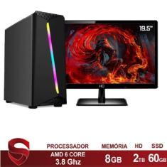 Imagem de PC Skill 40430 AMD A6 7480 8 GB 2 TB 60 Radeon R5