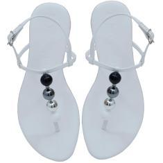 Imagem de Rasteira Ultra Conforto Mercedita Shoes Napa  Com Esferas Coloridas  feminino